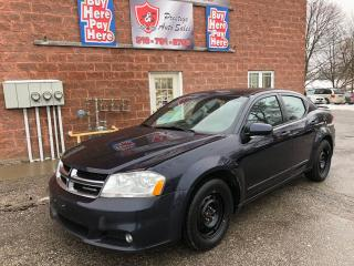 Used 2011 Dodge Avenger SXT/CERTIFIED/WARRANTY INCLUDED for sale in Cambridge, ON