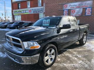 Used 2011 Dodge Ram 1500 SLT/NO ACCIDENT/CERTIFIED/WARRANTY INCLUDED for sale in Cambridge, ON