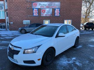 Used 2011 Chevrolet Cruze Eco w/1SA/ONE OWNER/NO ACCIDENT/CERTIFIED/WARRANTY for sale in Cambridge, ON