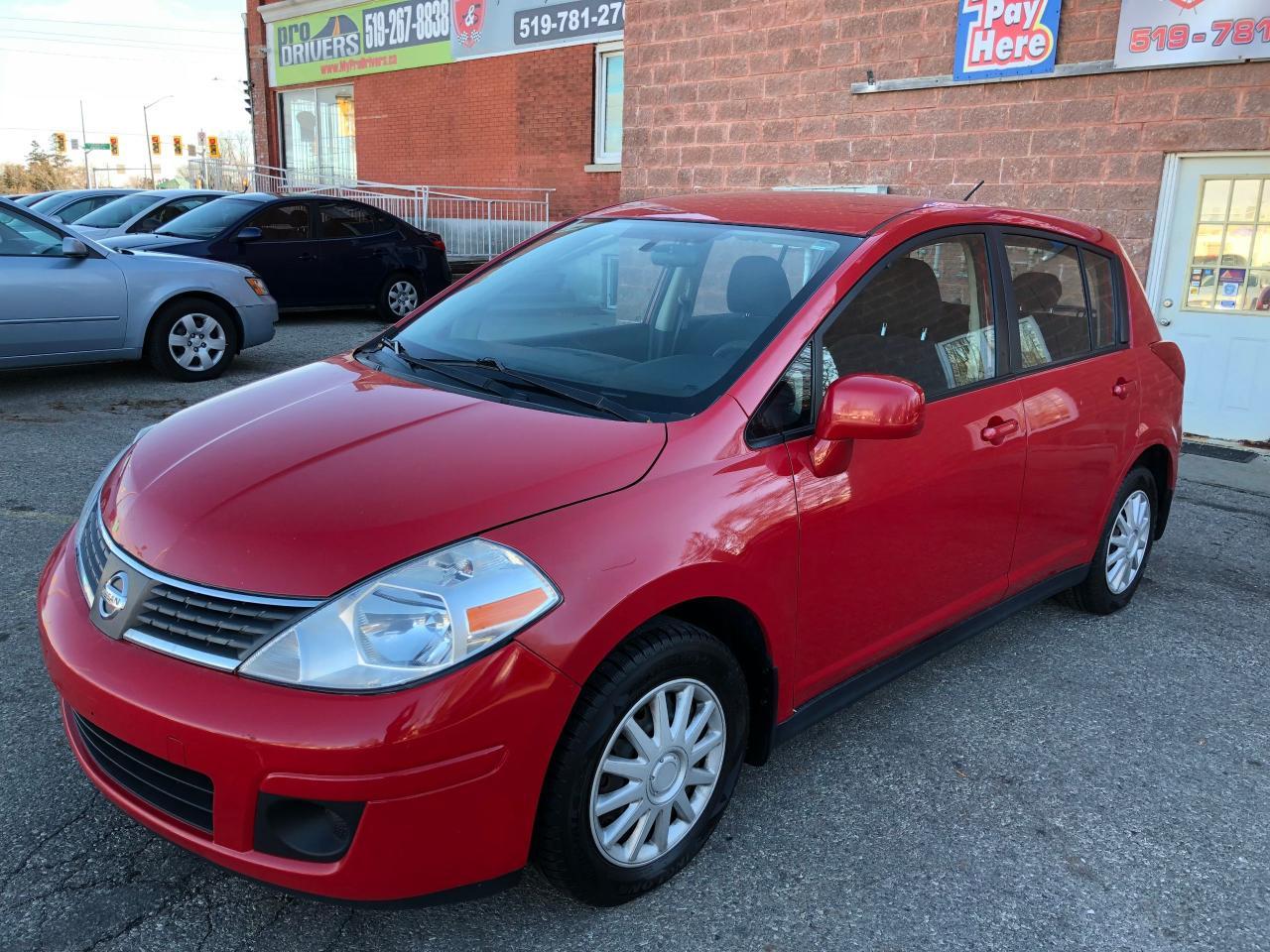 Photo of Red 2007 Nissan Versa