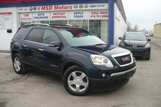 Used 2008 GMC Acadia SLT1  LEATHER,ROOF,7 PASSENGER for sale in Etobicoke, ON