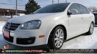 Used 2010 Volkswagen Jetta Wolfsburg|NO ACCIDENT|SUNROOF|BLUETOOTH|CERTIFIED for sale in Oakville, ON