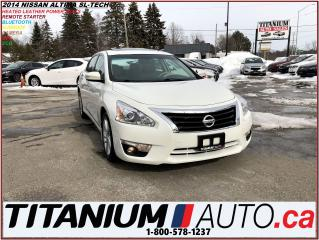 Used 2014 Nissan Altima 2.5 SL+GPS+Camera+Leather+Blind Spot & Lane Depart for sale in London, ON