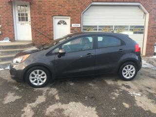 Used 2014 Kia Rio LX+Auto Hatchback Heated Cloth Bluetooth LOW KMS! for sale in Bowmanville, ON