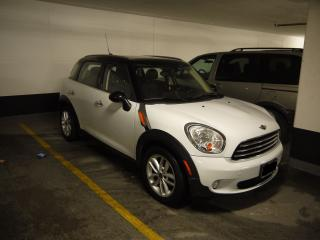 Used 2012 MINI Cooper Countryman Cooper No Accident & Low Kilometers for sale in North York, ON