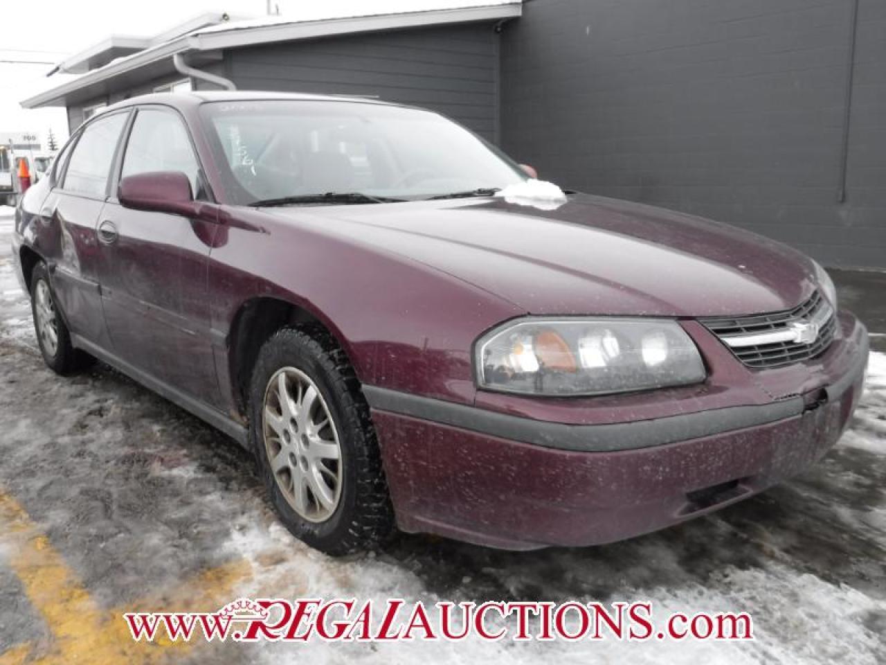 2003 Chevrolet IMPALA BASE 4D SEDAN