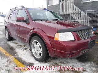 Used 2005 Ford Freestyle Limited 4D Utility AWD for sale in Calgary, AB