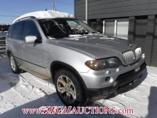 Used 2006 BMW X5  4D UTILITY 4.4I for sale in Calgary, AB