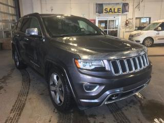 Used 2014 Jeep Grand Cherokee Overland|EcoDiesel|Navigation|Parking Sensors for sale in Edmonton, AB