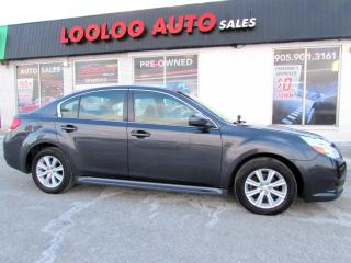 Used 2010 Subaru Legacy 2.5i PREMIUM BLUETOOTH AUTOMATIC CERTIFIED for sale in Milton, ON