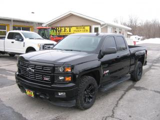 Used 2015 Chevrolet Silverado 1500 2LT Z71 Off Road Dbl Cab 4x4 MIDNIGHT PK for sale in Smiths Falls, ON