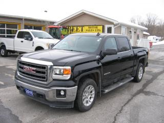 Used 2015 GMC Sierra 1500 SLE Z71 Crew Cab 4x4 LEATHER for sale in Smiths Falls, ON