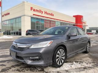 Used 2017 Honda Accord Hybrid Touring for sale in Brampton, ON