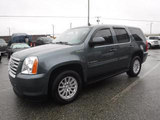 Used 2009 GMC Yukon Hybrid 4WD 2 Mode 3rd Row Seating for sale in Burnaby, BC