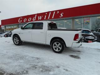 Used 2010 Dodge Ram 1500 SPORT! CREW CAB! CLEAN CARPROOF! BLUETOOTH! for sale in Aylmer, ON