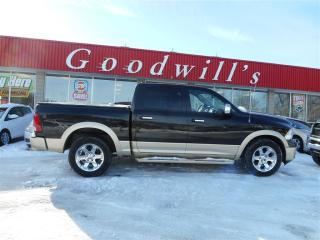 Used 2011 Dodge Ram 1500 LONGHORN PACKAGE! HEATED, LEATHER, COOLED SEATS! for sale in Aylmer, ON