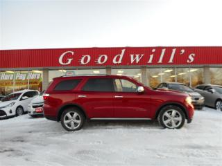 Used 2011 Dodge Durango CITADEL! RARE FIND! HEATED LEATHER, COOLED SEATS! for sale in Aylmer, ON