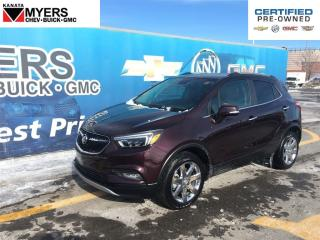 Used 2017 Buick Encore Essence AWD LEATHER SUNROOF NAV for sale in Ottawa, ON