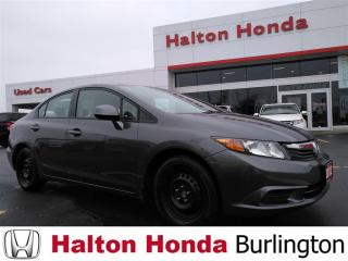 Used 2012 Honda Civic EX|ACCIDENT FREE|SERVICE HISTORY ON FILE for sale in Burlington, ON