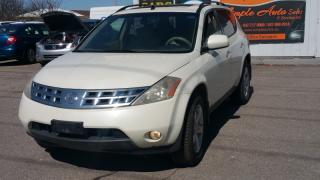 Used 2004 Nissan Murano for sale in Mississauga, ON