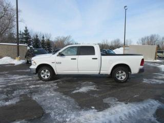 Used 2017 RAM 1500 OUTDOORSMAN CREW 4X4 for sale in Cayuga, ON