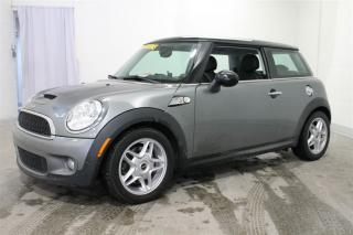 Used 2008 MINI Cooper S Cuir+mags+turbo for sale in Terrebonne, QC