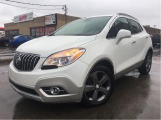 Used 2014 Buick Encore LEATHER MOONROOF BACKUP CAMERA for sale in St Catharines, ON