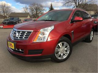 Used 2014 Cadillac SRX Luxury AWD LEATHER NAVIGATION SUN ROOF for sale in St Catharines, ON