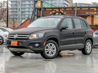 Used 2014 Volkswagen Tiguan 4MOTION CONVENIENCE PACKAGE for sale in Toronto, ON