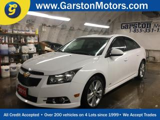 Used 2011 Chevrolet Cruze LT Turbo+*POWER SUNROOF*PHONE CONNECT*KEYLESS ENTRY w/REMOTE START*CRUISE CONTROL*ALLOYS*FOG LIGHTS*TRACTION CONTROL* for sale in Cambridge, ON