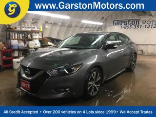 Used 2017 Nissan Maxima SV*NAVIGATION*LEATHER*BACK UP CAMERA*PHONE CONNECT*3.5L DOHC 24V V6*HEATED STEERING WHEEL*POWER HEATED FRONT SEATS*KEYLESS ENTRY w/REMOTE START* for sale in Cambridge, ON