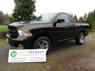 Used 2012 Dodge Ram 1500 SPORT, 4X4, NAVI, INSP, FREE WARRANTY for sale in Surrey, BC