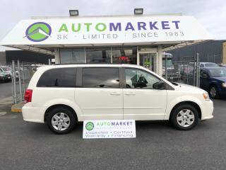 Used 2012 Dodge Grand Caravan SE STOW-N-GO! FINANCE IT! for sale in Langley, BC