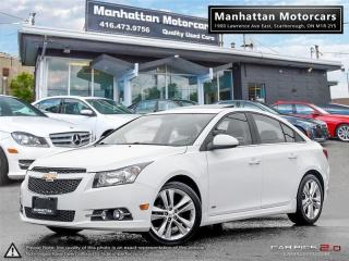 Used 2014 Chevrolet Cruze 2LT RS LIMITED |NAV|ROOF|WARRANTY|NOACCIDENT for sale in Scarborough, ON