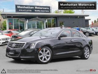 Used 2014 Cadillac ATS 2.0T PREMIUM |ROOF|PHONE|WARRANTY|2 SETS OF RIMS for sale in Scarborough, ON