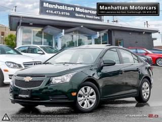 Used 2014 Chevrolet Cruze LT AUTO |BLUETOOTH|CAMERA|SUNROOF|WARRANTY for sale in Scarborough, ON