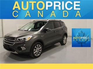 Used 2018 Ford Escape TITANIUM NAVI PANOROOF REAR CAM for sale in Mississauga, ON