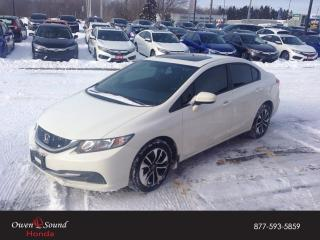 Used 2015 Honda Civic Sedan EX for sale in Owen Sound, ON
