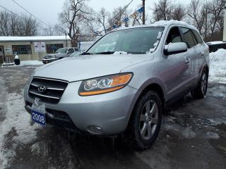 Used 2008 Hyundai Santa Fe Limited ,certified,4x4! for sale in Oshawa, ON