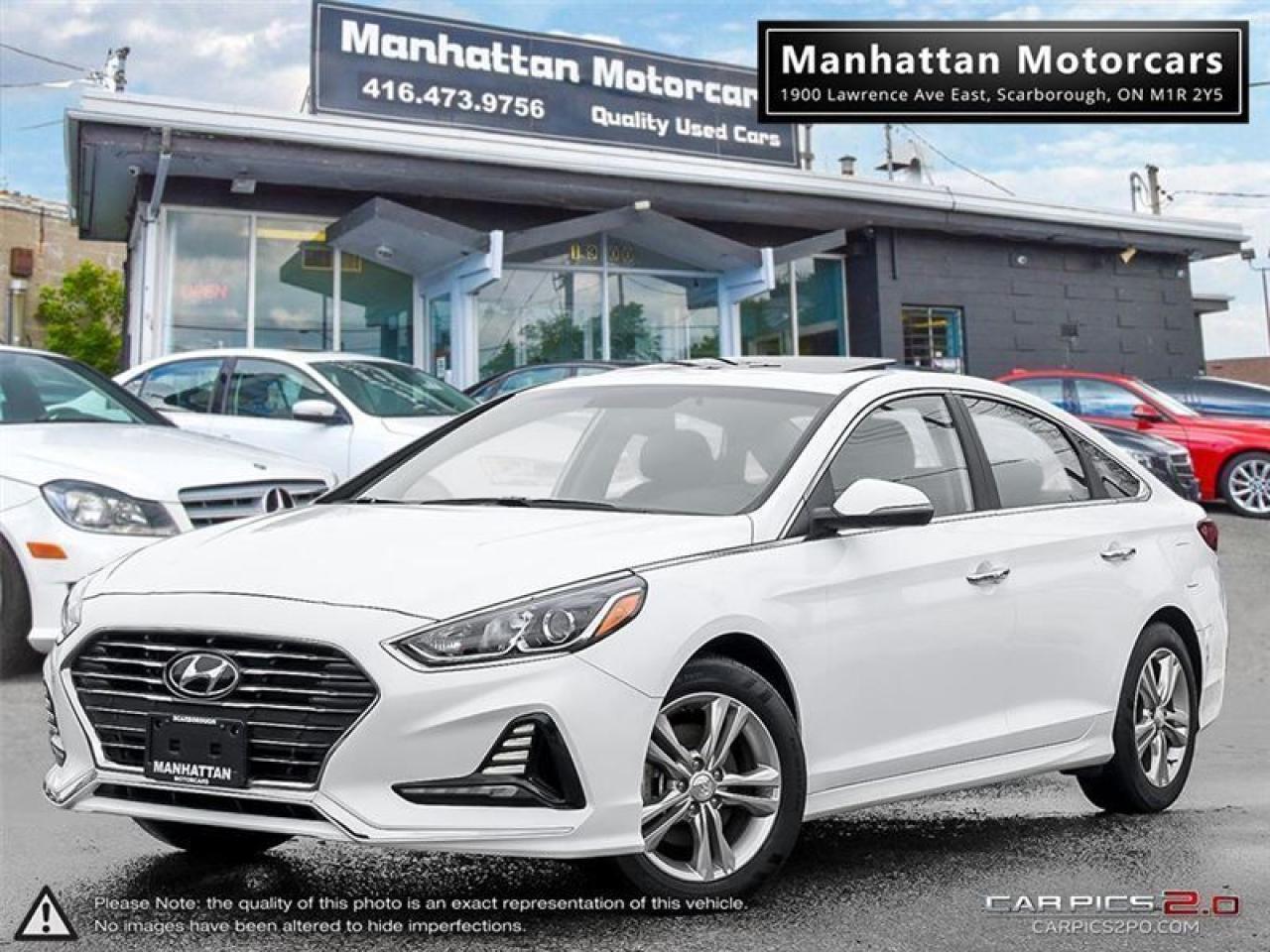 Photo of White 2018 Hyundai Sonata
