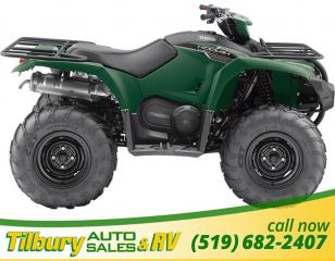 New 2018 Yamaha KODIAK 450 EPS GREEN for sale in Tilbury, ON