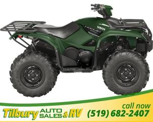 New 2018 Yamaha KODIAK 700 EPS GREEN for sale in Tilbury, ON