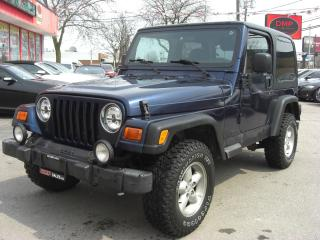 Used 2001 Jeep TJ Sport for sale in London, ON