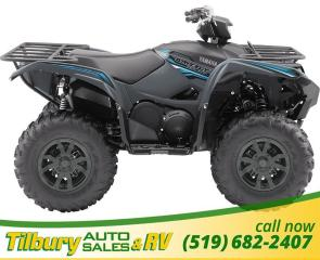 New 2018 Yamaha GRIZZLY EPS SE BLACK AND BLUE for sale in Tilbury, ON