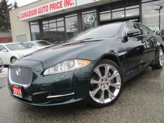 Used 2014 Jaguar XJ XJL 3.0L Portfolio-AWD-NAV-CAMERA-LTHER-PANO-ROOF for sale in Scarborough, ON