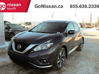 Used 2015 Nissan Murano PLATINUM: NAVIGATION, LEATHER, PANORAMIC ROOF, HEATED STEERING WHEEL! for sale in Edmonton, AB