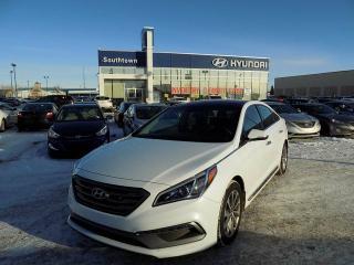 Used 2017 Hyundai Sonata Sport Tech/SUNROOF/HEATED SEATS/BACKUP CAM for sale in Edmonton, AB