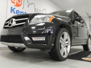 Used 2012 Mercedes-Benz GLK-Class GLK 350 4MATIC- power heated tan leather seats. Drive in style for sale in Edmonton, AB