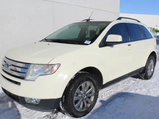 Used 2007 Ford Edge SEL AWD, LEATHER, NAVIGATION, REAR DVD! for sale in Edmonton, AB