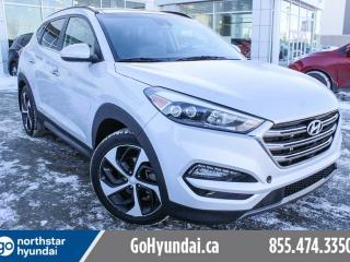 Used 2016 Hyundai Tucson Ultimate NAV/COOLEDSEATS/HIDS/PANOROOF/LEATHER for sale in Edmonton, AB